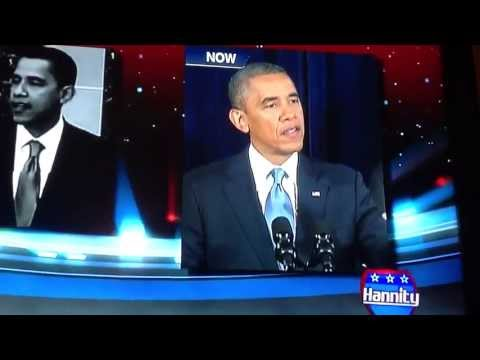 Senator Obama Debates President Obama - NSA (Hannity - June 11, 2013)