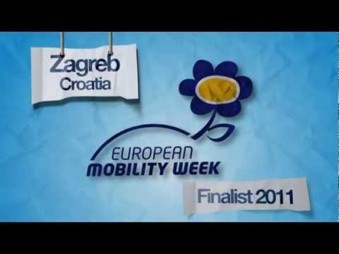 Zagreb, Croatia - Finalist - European Mobility Week Award 2011