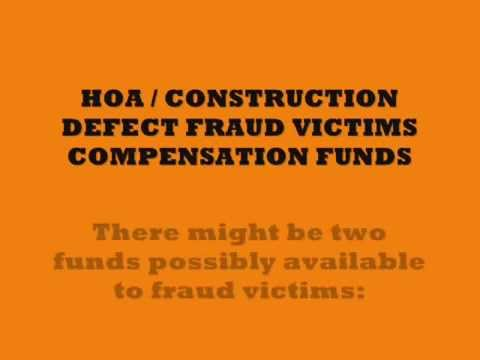 NEVADA HOA FRAUD - Victim Compensation Fund - Attorney Theft