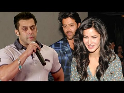 Salman Khan REACTS on Bang Bang! Official Teaser ft Hrithik...