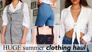 HUGE Try-On Summer Clothing Haul 2018