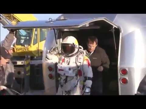 قفزة النمساوي فيلكس من ارتفاع 21 كيلو في الفضاء فيلكس