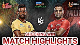 Match 1 Telugu Titans Vs U Mumba Match Highlights *Shocking Win* 😱😨 || Sports Academy ||