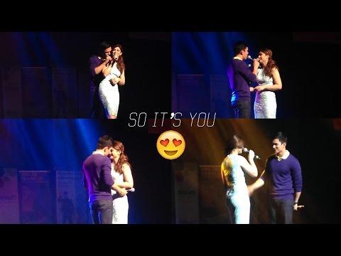 """Kapusong Pinoy sa LA: Tom Rodriguez and Carla Abellana sing """"So It"""