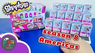 Điểm đến cuối cùng, du lịch Châu Mỹ Với Shopkins Season 8 America ToyStation 237