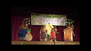TTA: UGADI SRI RAMANAVAMI 2014: CHELLA SONG ON LORD SRI KRISHNA