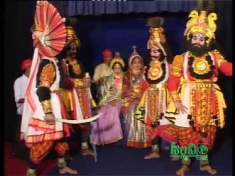 Yakshagana Bheeshma Vijaya Part 1 video