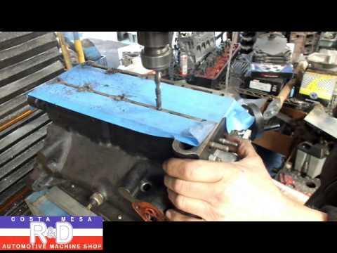 Fiat 750 Cylinder Head Bolt Enlargent - 8mm to 10mm