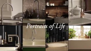 DuPont ™ Corian ® Portraits of Life Kitchen Collection