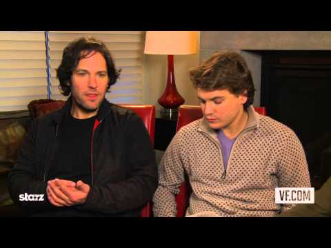 Paul Rudd and Emile Hirsch on Prince Avalanche