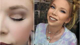 FULL GLITZ FALL MAKEUP TUTORIAL