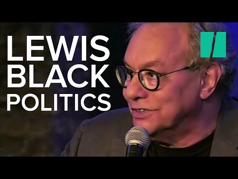 Comedian Lewis Black Rips On Trump's Inner Circle