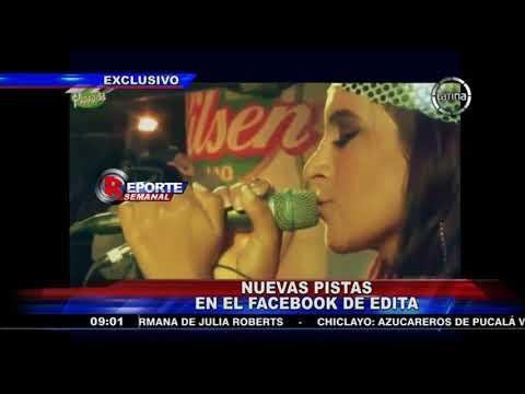Nuevas pruebas sobre el sufrimiento de la cantante Edita Guerrero