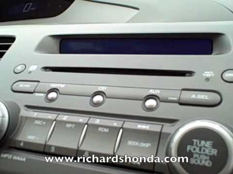 2010 Honda Civic Baton Rouge-How to Change Clock Settings