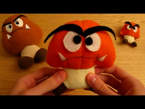 Make your own Goomba Plush
