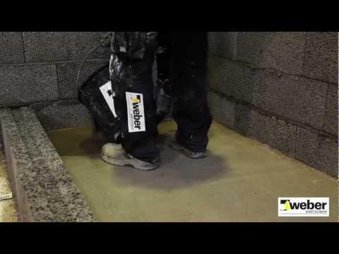 Avjämning golvet för golvvärme - så gör du