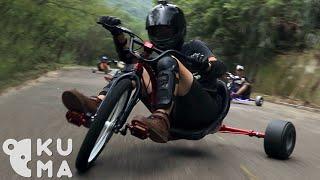 download lagu Trike Drifting - Bombing Mountains On Adult Big Wheels gratis