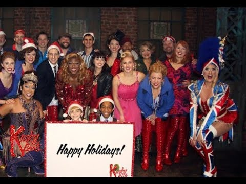 Happy Holidays from the cast and crew of KINKY BOOTS!