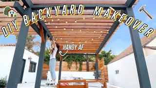 EPIC $300 DIY Backyard Transformation!