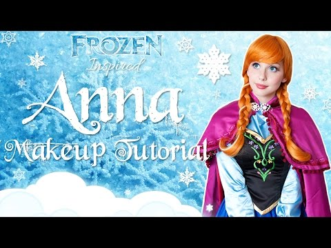Disney's Frozen Inspired PRINCESS ANNA Makeup Tutorial