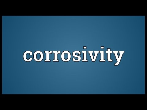 Header of corrosivity