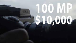 Fujifilm GFX100: 100 Megapixels $10,000!