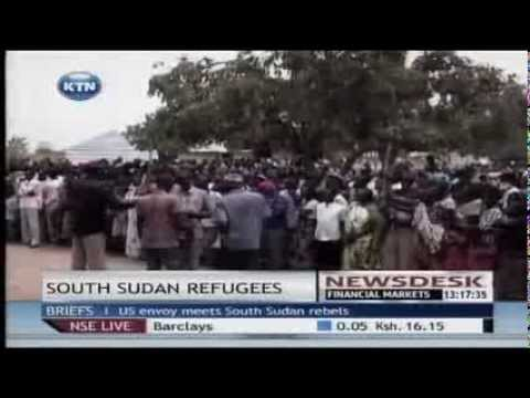 Over a half a million people displaced by fighting in South Sudan
