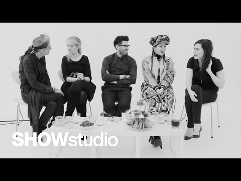 SHOWstudio: Meadham Kirchhoff - Womenswear Autumn/Winter 2013 Panel Discussion