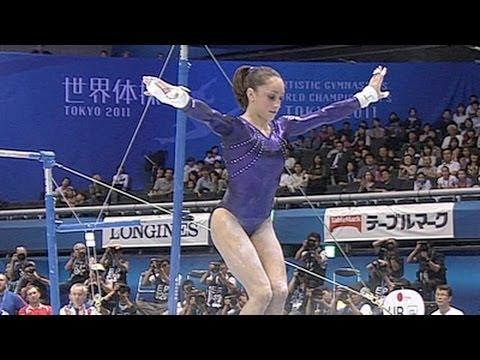 Jordyn Wieber 4th in Uneven Bars Championship