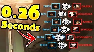How To Kill The Whole Team In 0.26 Seconds!!  - Overwatch Instant Hexakills Montage