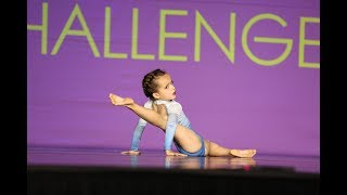 """6 Year Old Contemporary Solo """"Departure"""" - Ella Dobler - 1st Place"""