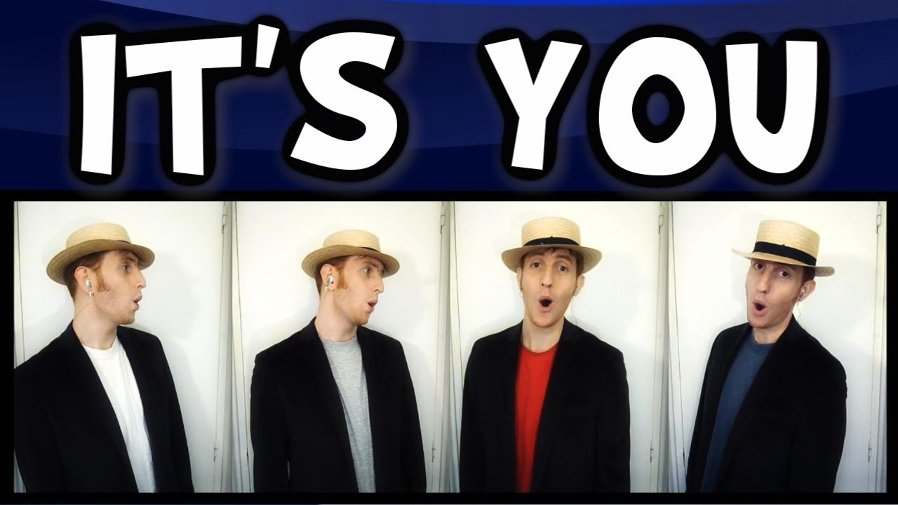 Its You (Music Man) - Barbershop quartet - YouTube