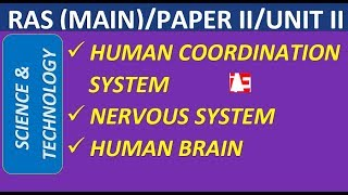 Human Coordination  System | Science and Technology | RAS