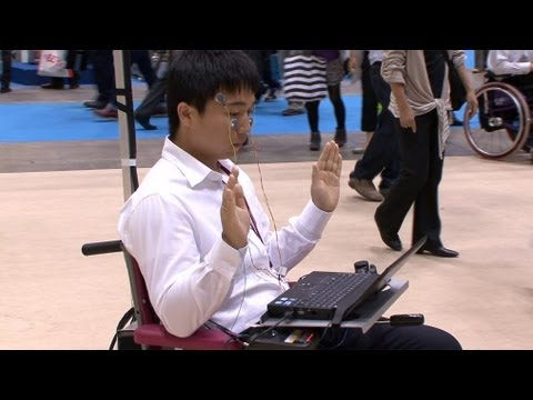 Facial Muscle Wheelchair Control System #DigInfo
