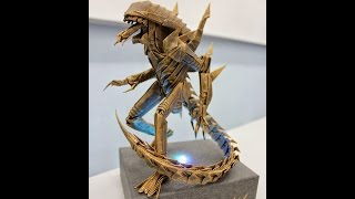 Origami Alien Warrior Walkthrough - [ Kade Chan ]