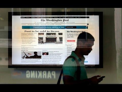 Washington Post sold to Amazon founder