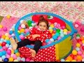 BALL PARTY Show ! / BALL Pit in Our House!