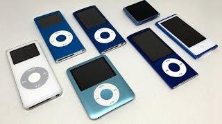 The history of the iPod nano