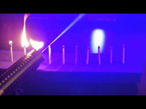 Wicked Lasers Interactive: ARCTIC - Burning Tests