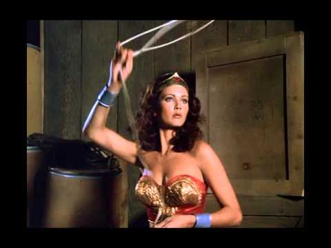 Wonder Woman 1976 Tv  Theme 1st Year Spin & Action Re-created Underscore video