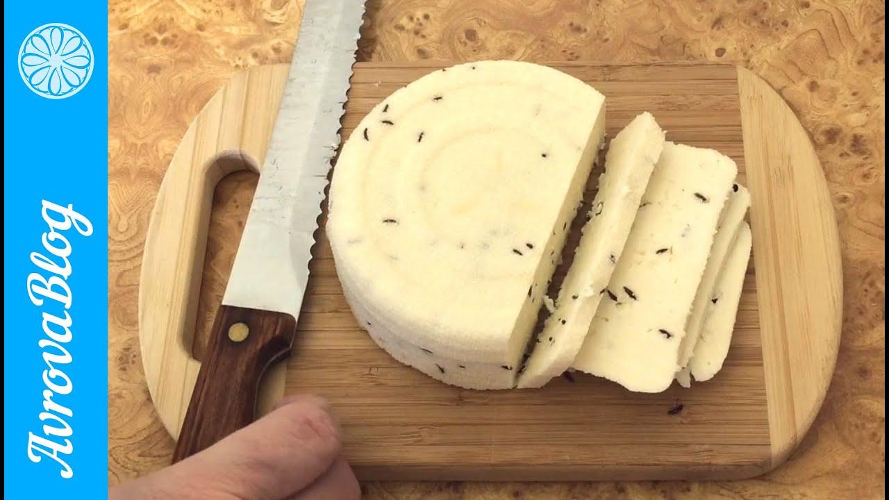 Как сделать сыр в домашних условиях рецепт