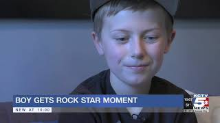 Kid Gets To Rock With Foo Fighters At Sprint Center