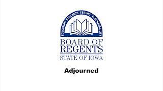 Iowa Board of Regents Meeting April 1st, 2020
