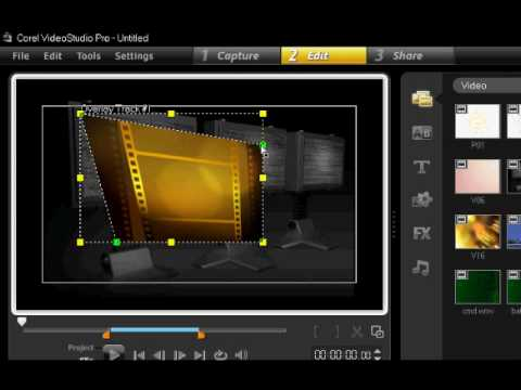 Corel Video Studio Picture in Picture Tutorial