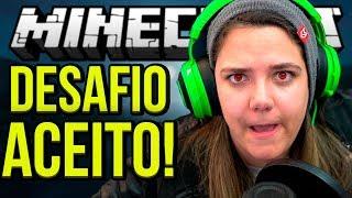 MINECRAFT REVERSO: ACEITEI O DESAFIO DO SPOK!