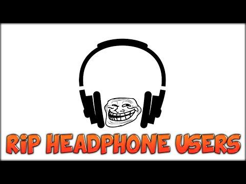 RIP HEADPHONE USERS (Minecraft)