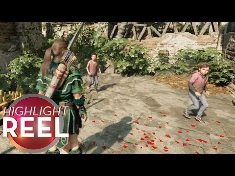 Highlight Reel #428 - Lara Croft And The Terrifying Gliding Children