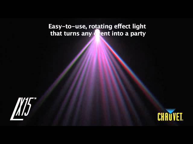 Chauvet LX15 LED Moonflower