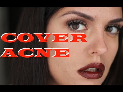 Cover Acne With Drugstore Makeup (like a PRO makeup artist) makeup for beginners