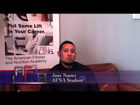 Personal Trainer Testimonial - AFNA